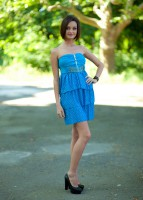 Купить нарядное однотонное платье Киев Украина
