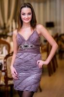 Купить женское длинное полосатое платье Киев Украина