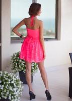Купить стильное однотонное платье Киев Украина