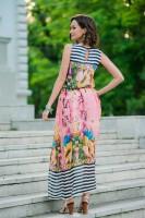 Купить легкое летнее розовое платье Киев Украина