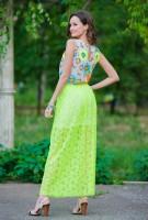 Купить модное узорчастое платье Киев Украина