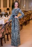 Купить длинное полосатое платье Киев Украина